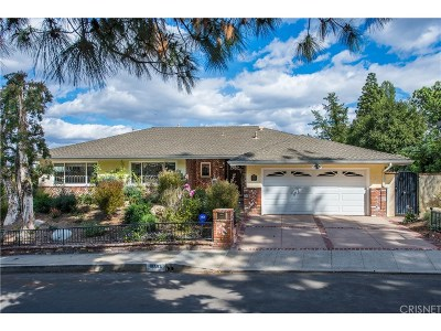 Encino Single Family Home For Sale: 16593 Adlon Road