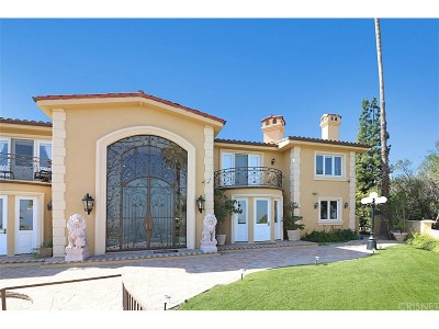 Single Family Home For Sale: 18255 Karen Drive