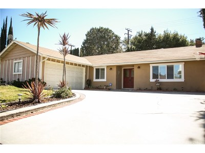 Newhall Single Family Home For Sale: 23828 Daisetta Drive
