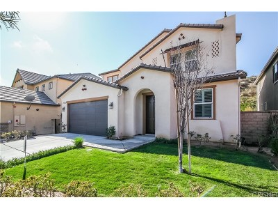 Valencia Single Family Home For Sale: 28825 Bellows Court