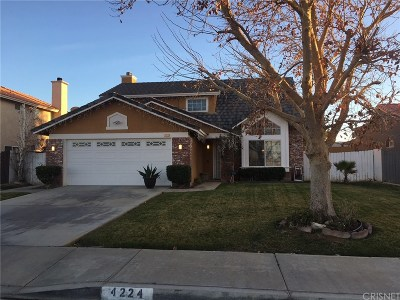 Palmdale Single Family Home For Sale: 4224 Sorrell Avenue