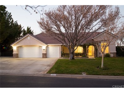 Palmdale Single Family Home For Sale: 5731 Avenida Esplendida