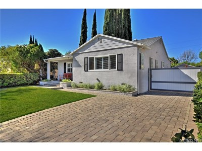 Encino Single Family Home For Sale: 4925 Enfield Avenue