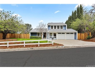 Woodland Hills Single Family Home For Sale: 4301 Cezanne Avenue