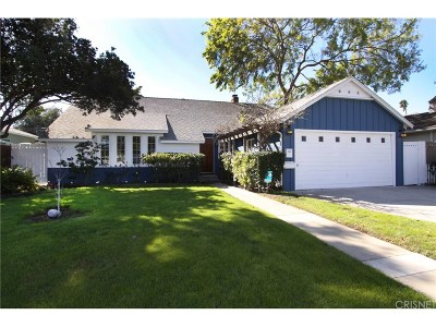 Valley Village Single Family Home For Sale: 11606 Kling Street
