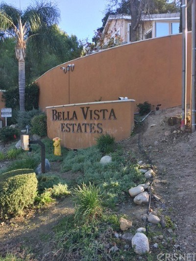 Newhall Residential Lots & Land For Sale: 3 Bella Vista Drive