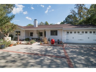 Sunset Strip - Hollywood Hills West (C03) Single Family Home For Sale: 7338 Woodrow Wilson Drive