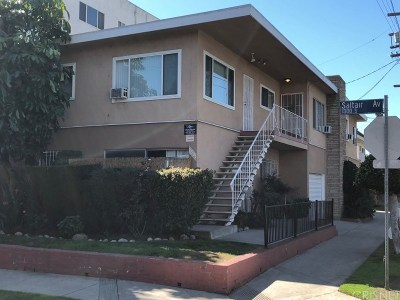 Los Angeles County Residential Income For Sale: 1301 South Saltair Avenue