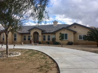 Palmdale CA Single Family Home Sold: $650,000