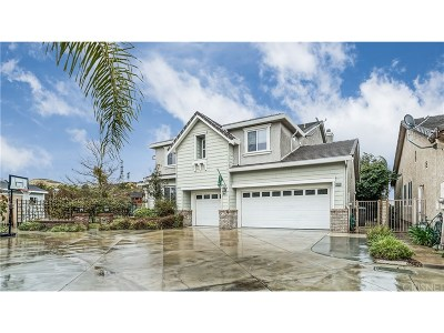 Saugus Single Family Home For Sale: 28420 Incline Lane