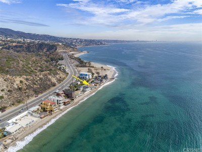 Malibu Residential Income For Sale: 18830 Topanga Beach