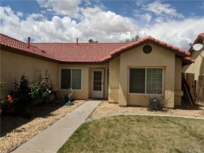 Rosamond Single Family Home For Sale: 3333 Eagle Way