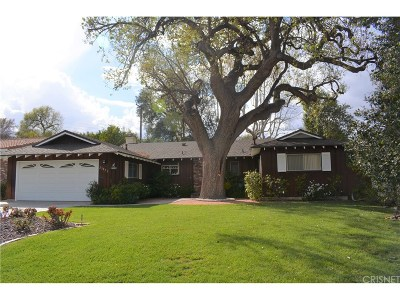 Newhall Single Family Home For Sale: 25071 Highspring Avenue