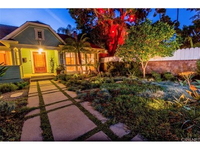 Los Angeles County Single Family Home For Sale: 1551 Courtney Avenue