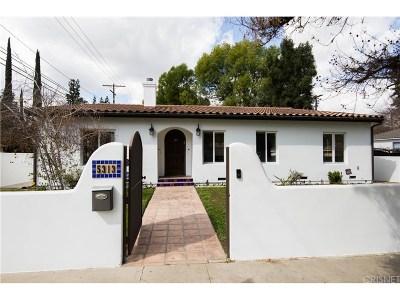Tarzana Single Family Home For Sale: 5313 Veloz Avenue