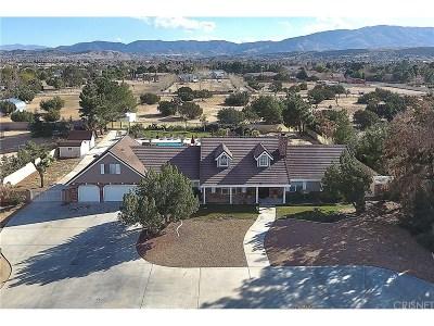 Palmdale Single Family Home For Sale: 2746 West Avenue O