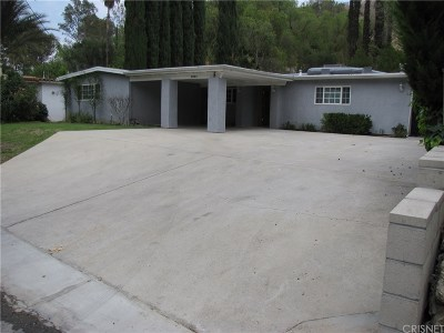 Tarzana Rental For Rent: 4844 Topeka Drive