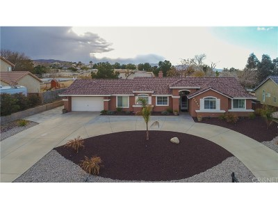 Palmdale Single Family Home For Sale: 35867 53rd Street East