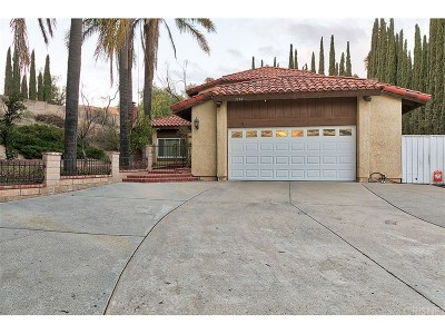 Simi Valley Single Family Home For Sale: 3350 Michelle Court