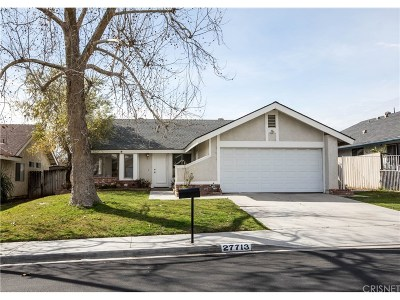 Valencia Single Family Home For Sale: 27713 Cherry Creek Drive