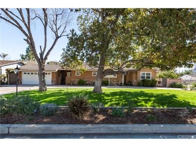 Northridge Single Family Home For Sale: 17801 Malden Street