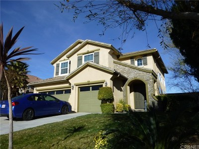 Canyon Country Single Family Home For Sale: 14233 Arches Lane
