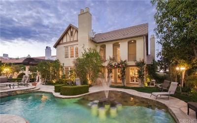 Calabasas Single Family Home For Sale: 25470 Prado De Las Bellotas