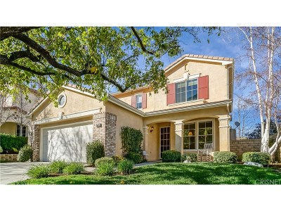 Stevenson Ranch Single Family Home For Sale: 26413 Shakespeare Lane