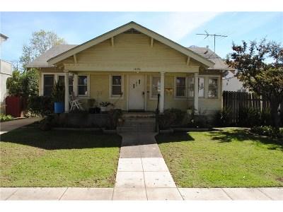 Single Family Home For Sale: 1626 California Avenue