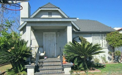 Los Angeles County Single Family Home For Sale: 2729 West Shorb Street
