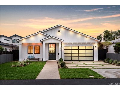 Sherman Oaks Single Family Home For Sale: 14816 Otsego Street