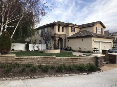Canyon Country Single Family Home For Sale: 26536 Brant Way