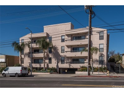 Valley Village Condo/Townhouse For Sale: 4829 Whitsett Avenue #106