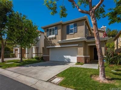 Valencia Single Family Home For Sale: 24193 Tango Drive