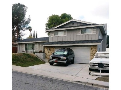 Newhall Single Family Home For Sale: 26511 Bannerman Avenue