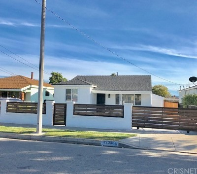 Inglewood Single Family Home For Sale: 3238 West 108th Street