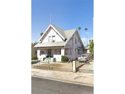 Los Angeles County Single Family Home For Sale: 1477 West 25th Street