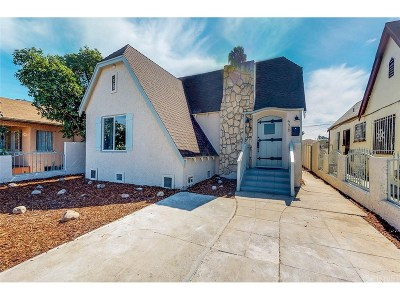 Los Angeles Single Family Home For Sale: 536 West 112th Street