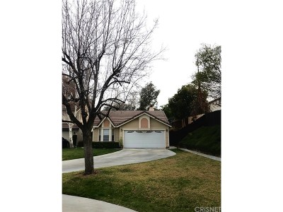Canyon Country Single Family Home For Sale: 19856 Pandy Court