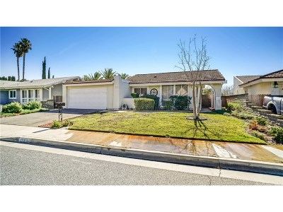 Los Angeles County Single Family Home For Sale: 22802 Garzota Drive