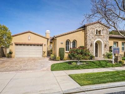 Valencia CA Single Family Home For Sale: $1,350,000