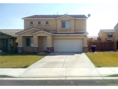 Rosamond Single Family Home For Sale: 3084 Summer Breeze Avenue