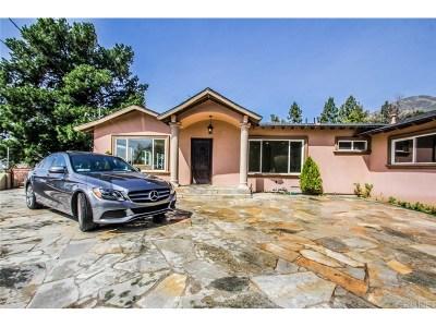La Canada Flintridge Single Family Home For Sale: 5413 Rock Castle Drive