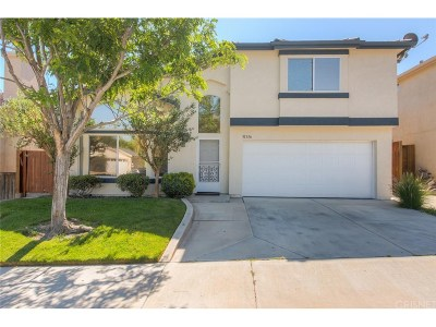 Castaic Single Family Home For Sale: 31336 Nichols Lane