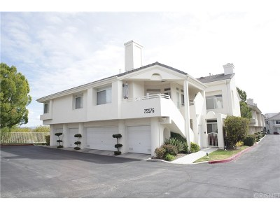 Stevenson Ranch Condo/Townhouse For Sale: 25576 Hemingway Avenue #A