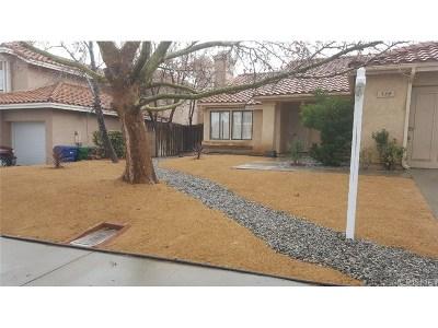 Palmdale Single Family Home For Sale: 334 Rainbow