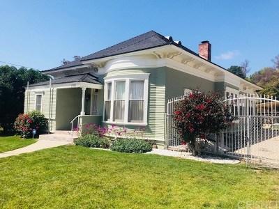 Santa Paula Single Family Home For Sale: 1358 Ojai Road