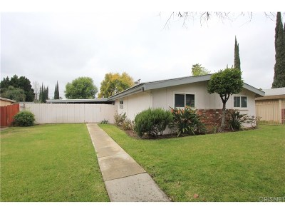 Los Angeles County Single Family Home For Sale: 6435 Wilbur Avenue