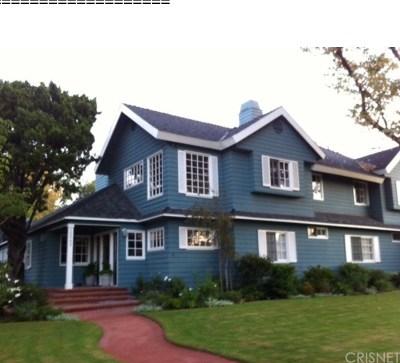 Studio City Single Family Home For Sale: 12543 Hortense Street