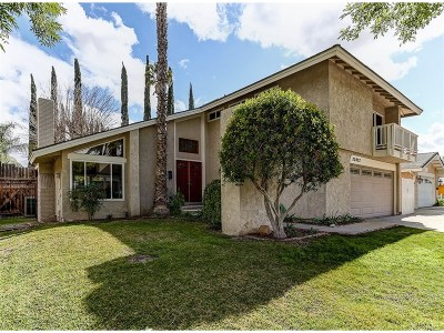 Los Angeles County Single Family Home For Sale: 23022 Las Mananitas Drive